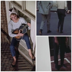 8 ways Breakfast at Tiffany's is exactly like today @splattershare -cropped pants collage