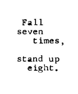 fall seven times, stand up eight @splattershare