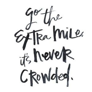 go the extra mile it's never crowded @splattershare