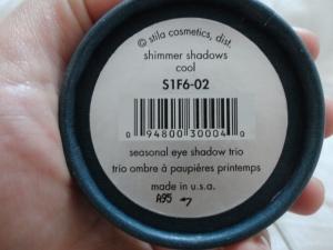 Stila purple shimmer shadow