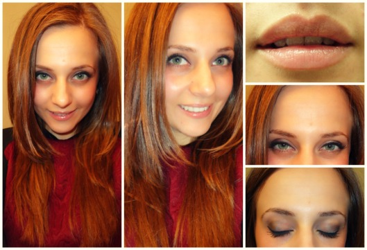 Super Simple Smokey Eye Makeup @splattershare