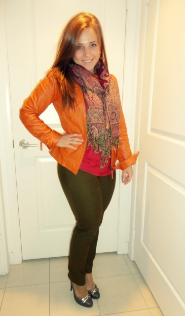 Fall Colours - #OOTD @splattershare