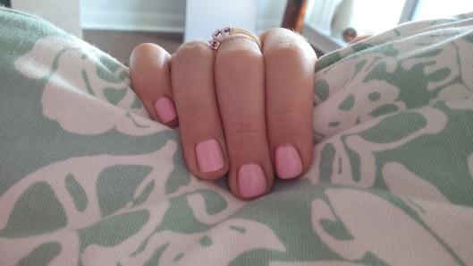 penthouse pink: L'Oreal nail polish @splattershare