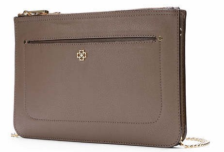 Ann Taylor Purse - taupe @splattershare